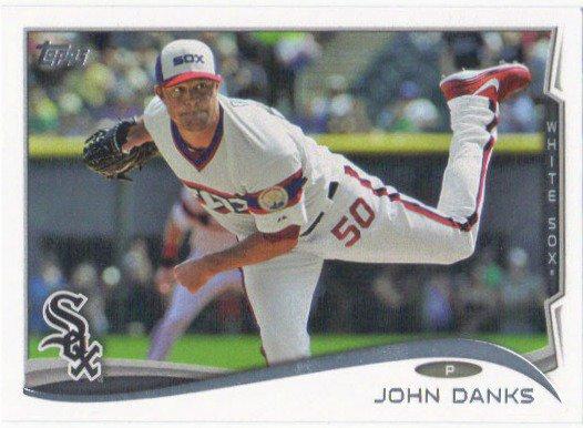 John Danks 2014 Topps #395 Chicago White Sox Baseball Card