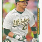 Craig Gentry 2014 Topps #477 Oakland Athletics Baseball Card