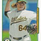A.J. Griffin 2014 Topps #410 Oakland Athletics Baseball Card