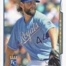 Luke Hochevar 2014 Topps #586 Kansas City Royals Baseball Card