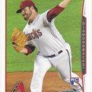 David Holmberg 2014 Topps Rookie #242 Arizona Diamondbacks Baseball Card