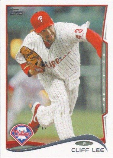 Cliff Lee 2014 Topps #269 Philadelphia Phillies Baseball Card