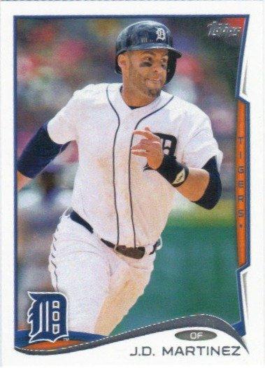 Jd Martinez 2014 Topps Update Us 42 Detroit Tigers