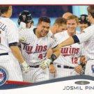 Josmil Pinto 2014 Topps Rookie #162 Minnesota Twins Baseball Card