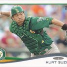 Kurt Suzuki 2014 Topps #104 Oakland Athletics Baseball Card
