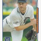 Justin Verlander 2014 Topps #450 Detroit Tigers Baseball Card