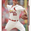 Adam Wainwright 2014 Topps #375 St. Louis Cardinals Baseball Card