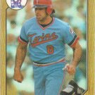 Gary Gaetti 1987 Topps #710 Minnesota Twins Baseball Card