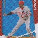"""Ryan Howard 2010 Topps """"20/20"""" #T7 Philadelphia Phillies Baseball Card"""