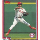 Jimmy Rollins 2004 Topps #76 Philadelphia Phillies Baseball Card