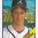 Tom Glavine 1988 Topps Rookie #779 Atlanta Braves Baseball Card