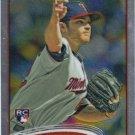 Liam Hendriks 2012 Topps Chrome Rookie #154 Minnesota Twins Baseball Card