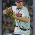 Chipper Jones 2012 Topps Chrome #96 Atlanta Braves Baseball Card