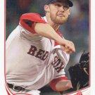 Daniel Bard 2013 Topps Update #US149 Boston Red Sox Baseball Card