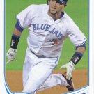 Emilio Bonifacio 2013 Topps #482 Toronto Blue Jays Baseball Card