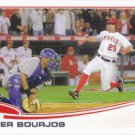 Peter Bourjos 2013 Topps #520 Los Angeles Angels Baseball Card