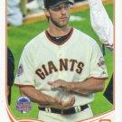 Madison Bumgarner 2013 Topps Update #US249 San Francisco Giants Baseball Card