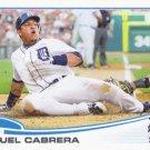 Miguel Cabrera 2013 Topps #660 Detroit Tigers Baseball Card