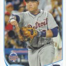Miguel Cabrera 2013 Topps Update #US218 Detroit Tigers Baseball Card
