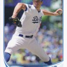 Chris Capuano 2013 Topps #191 Los Angeles Dodgers Baseball Card