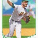Ryan Cook 2013 Topps #48 Oakland Athletics Baseball Card