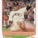Brandon Crawford 2013 Topps #73 San Francisco Giants Baseball Card