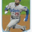 Carl Crawford 2013 Topps #594 Los Angeles Dodgers Baseball Card