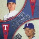 Yu Darvish-Nolan Ryan 2013 Topps 'Franchise Forerunners' #FF6 Texas Rangers Baseball Card