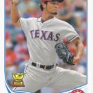 Yu Darvish 2013 Topps #11 Texas Rangers Baseball Card