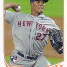 Jeurys Familia 2013 Topps Rookie #317 New York Mets Baseball Card
