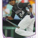 Dexter Fowler 2013 Topps #273 Colorado Rockies Baseball Card