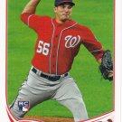 Christian Garcia 2013 Topps Rookie #278 Washington Nationals Baseball Card