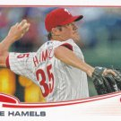 Cole Hamels 2013 Topps #332 Philadelphia Phillies Baseball Card