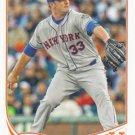 Matt Harvey 2013 Topps #577 New York Mets Baseball Card
