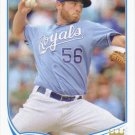 Greg Holland 2013 Topps Update #US318 Kansas City Royals Baseball Card