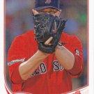 Jon Lester 2013 Topps #541 Boston Red Sox Baseball Card