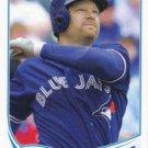 Adam Lind 2013 Topps #557 Toronto Blue Jays Baseball Card