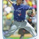 Brandon Lyon 2013 Topps #237 Toronto Blue Jays Baseball Card