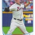 Paul Maholm 2013 Topps #477 Atlanta Braves Baseball Card