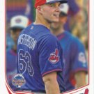 Justin Masterson 2013 Topps Update #US239 Cleveland Indians Baseball Card