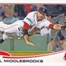 Will Middlebrooks 2013 Topps #64 Boston Red Sox Baseball Card