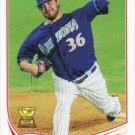 Wade Miley 2013 Topps #530 Arizona Diamondbacks Baseball Card