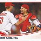 Yadier Molina 2013 Topps #4 St. Louis Cardinals Baseball Card
