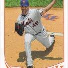 Jon Niese 2013 Topps #250 New York Mets Baseball Card