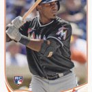 Marcell Ozuna 2013 Topps Update Rookie #US279 Miami Marlins Baseball Card