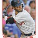 Dustin Pedroia 2013 Topps #15 Boston Red Sox Baseball Card