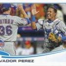 Salvador Perez 2013 Topps Update#US98 Kansas City Royals Baseball Card