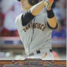 Buster Posey 2013 Topps 'Postseason Hero' #PH-11 San Francisco Giants Baseball Card