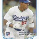 Yasiel Puig 2013 Topps Update Rookie #US330 Los Angeles Dodgers Baseball Card