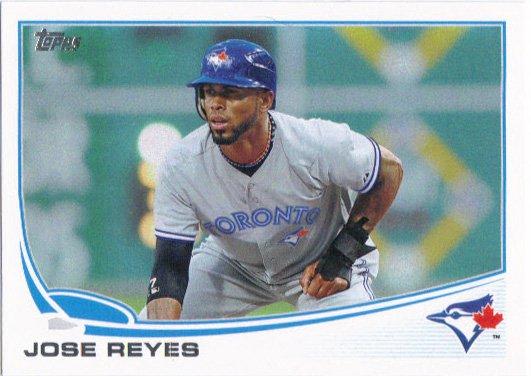 Jose Reyes 2013 Topps #331 Toronto Blue Jays Baseball Card